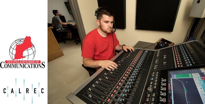 Calrec's Brio gives NESCom students hands-on experience
