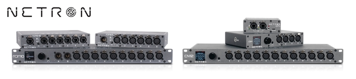 Complete NETRON™ data distribution range from Obsidian Control Systems now shipping