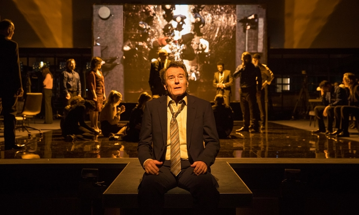Riedel Products Play Key Onstage Roles at London National Theatre's Presentation of 'Network' Starring Bryan Cranston