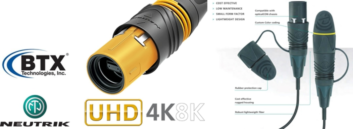 BTX Receives Neutrik® opticalCON® LITE Certification