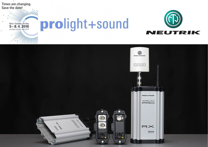 Neutrik presents the latest product based on DIWA technology: XIRIUM PRO