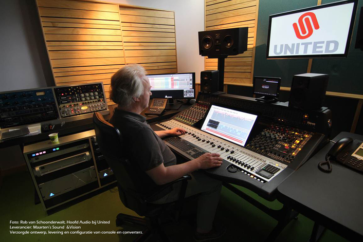 HIGH END AUDIO SETS AT UNITED POSTPRODUCTION