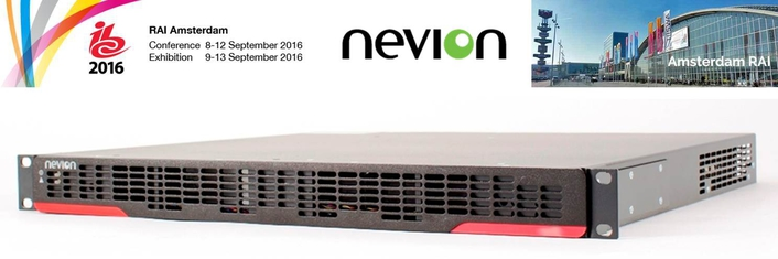 Nevion launches new software-driven media node at IBC2016