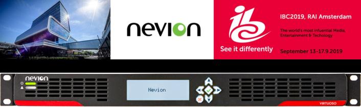 Nevion adds JPEG XS video compression to Virtuoso media node