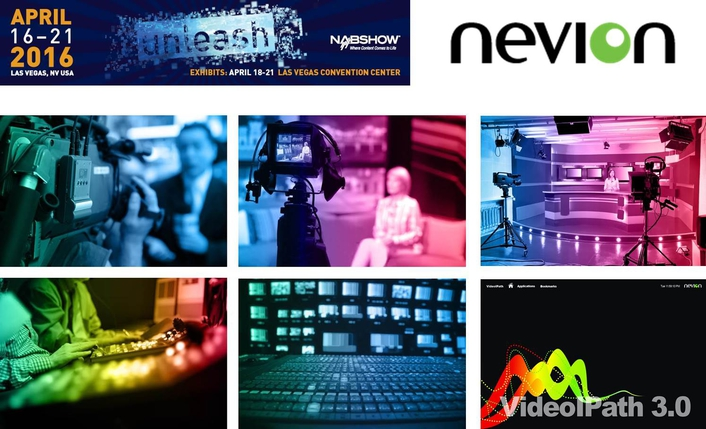 Nevion shows off live IP technology at NAB