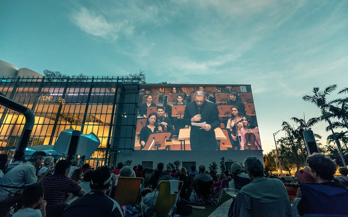 New World Symphony to WALLCAST 4K HDR Concerts Live with AJA 12G-SDI Solutions