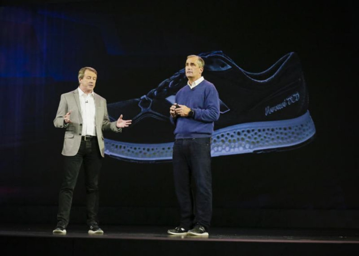 Intel and New Balance announced a strategic collaboration