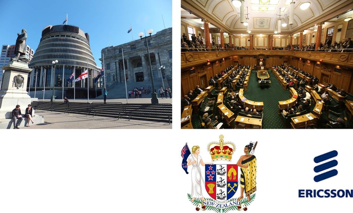 Ericsson signs exclusive multi-year contract to remotely provide live captioning services to the New Zealand Parliament