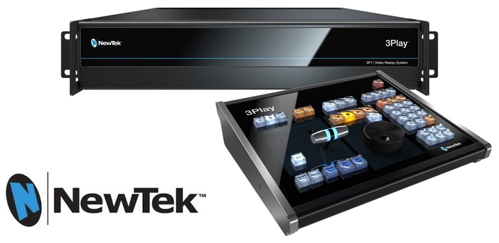 IP-Based Sports Production Becomes Reality with NewTek 3Play® 3P1