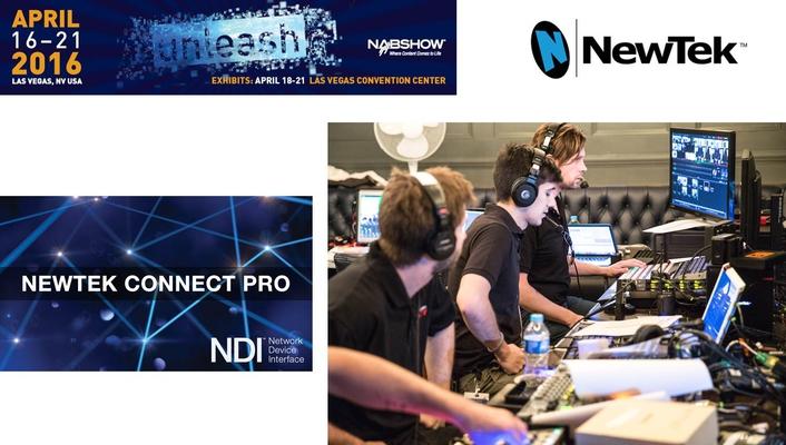 NewTek™ Connect Pro Tool Bridges IP And SDI Workflows