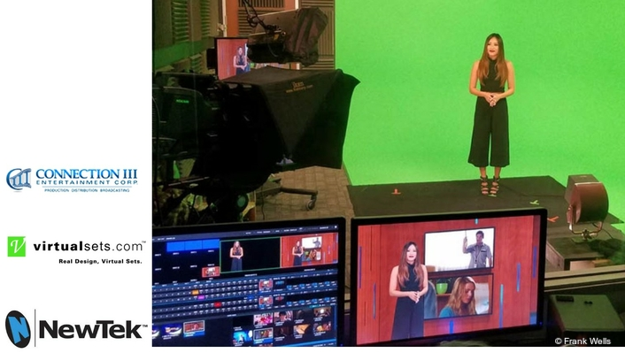 Green Screen Magic Made In Hollywood with Virtualsets.com and TriCaster