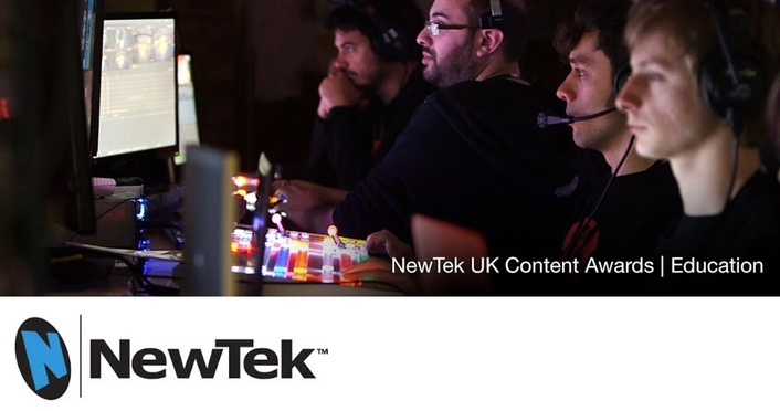 NewTek Recognises Creativity and Innovation with UK Education Awards