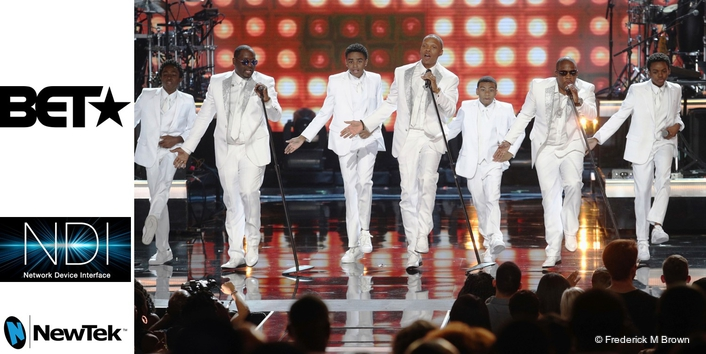 BET bets on NDI for live production