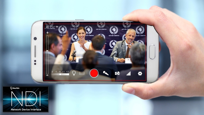 NewTek NDI™ Camera Transforms Mobile Devices Into IP Video Sources