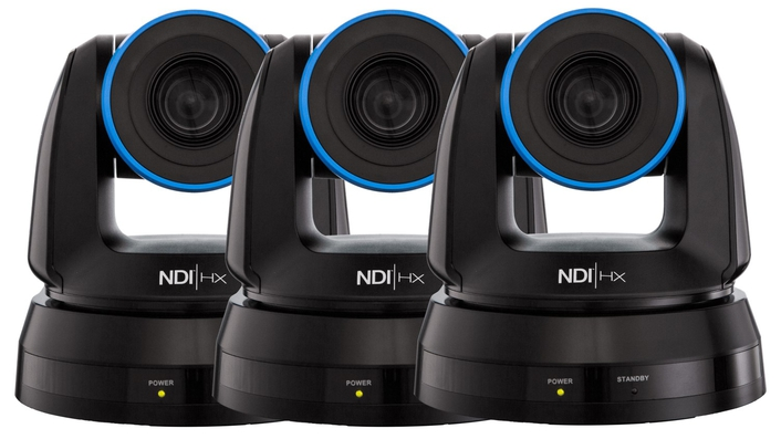 NewTek Ignites Live IP Revolution With World's First NDI Native Camera
