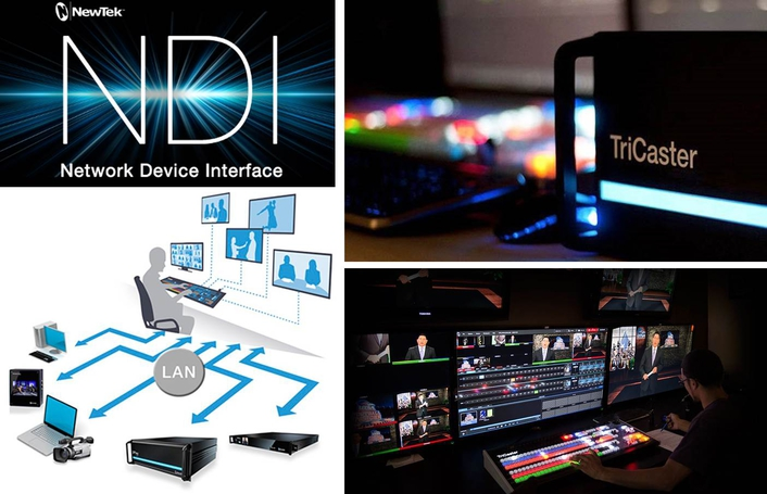 NewTek ships Network Device Interface for IP production workflows