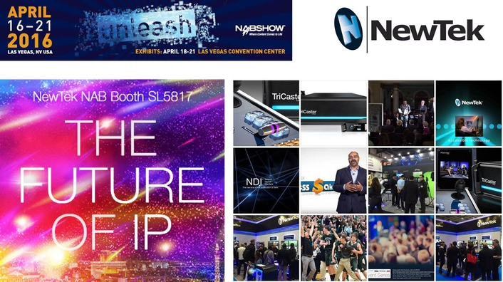 See NewTek Advanced IP solutions in action, with TriCaster®, 3PlayTM, and TalkShowTM