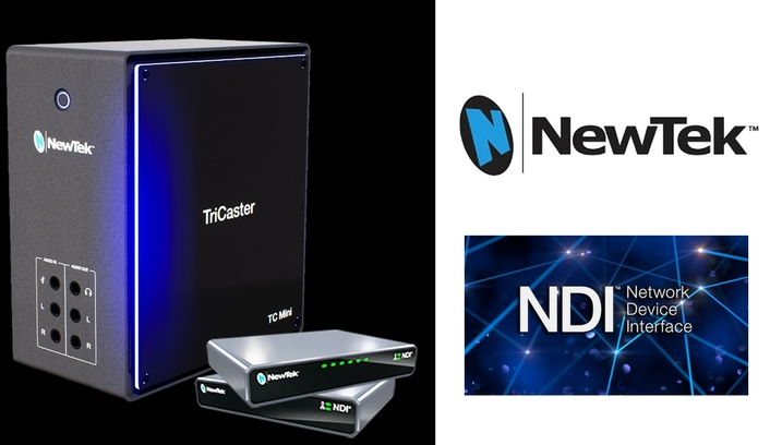 NewTek TriCaster® Mini Brings UHD Digital Media Production and Streaming to Schools, Businesses, and Professional AV
