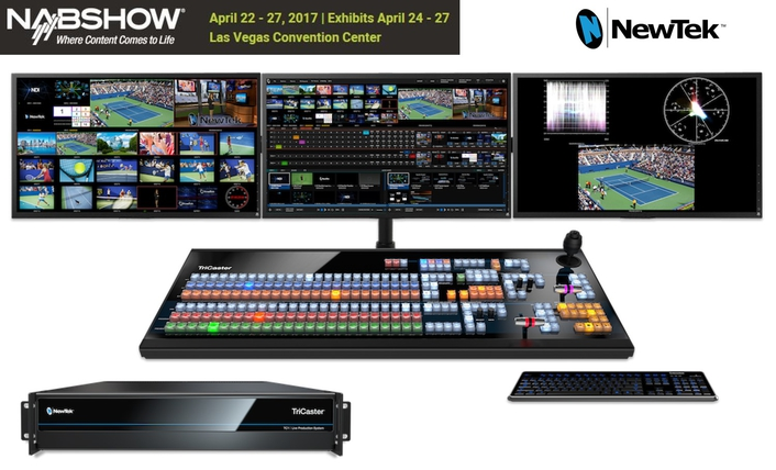 NewTek Introduces TriCaster TC1 – The First Affordable End-to-End 4K IP Video Production System