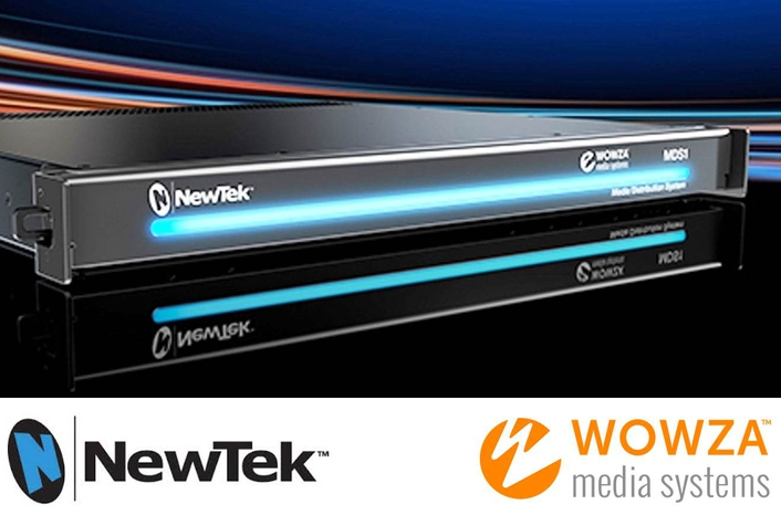 NewTek and Wowza Deliver the First Ever Global and Local Media Distribution Platform