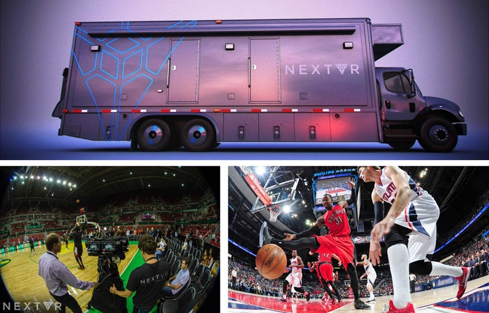 NextVR Unveils World's First Virtual Reality Production Truck at NAB Show