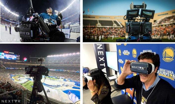 NextVR continues to break new ground, setting industry standards for live entertainment broadcasts in virtual reality