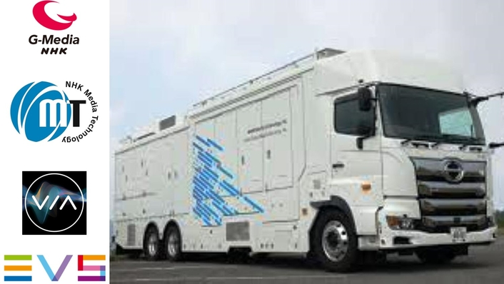 NHK MEDIA TECHNOLOGY AND NHK GLOBAL MEDIA SERVICES PUT XT-VIA SERVERS IN THE DRIVING SEAT OF NEW 4K OB TRUCK