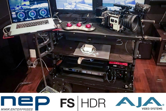 "NHK Enterprises ""nep infini"" Production Workflow Goes HDR with AJA FS-HDR"