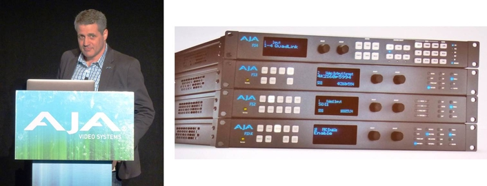 AJA Unveils FS4 Frame Synchronizer and Converter  FS4 Supporting 4K/UltraHD and Multi-channel 2K/HD/SD Workflows