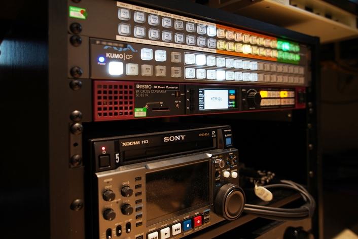 NiTRo Streamlines 8K Editing Workflows With AJA's KUMO 3232-12G 12G-SDI Router