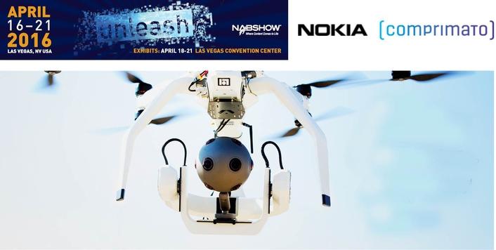 Nokia OZO VR Camera Integrates Comprimato JPEG2000 Codec Technology