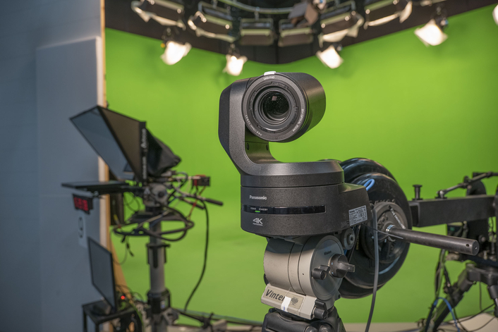 Zero Density's virtual production software Reality EngineTM and the Panasonic 4K PTZ camera AW-UE150 delivers a cost effective and photorealistic virtual studio production solution