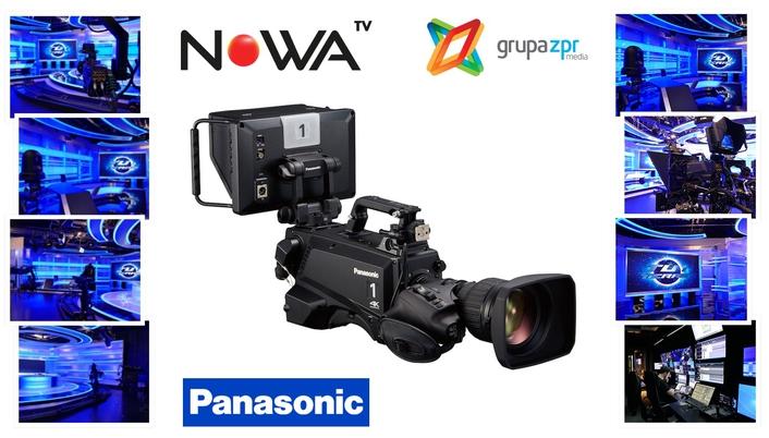 Nowa TV through Panasonic lens