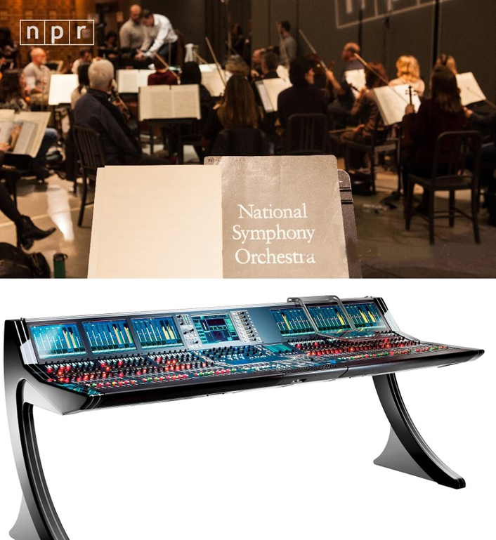 Lawo mc²66 Mixes National Symphony Orchestra at NPR