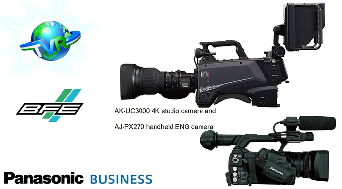 BFE and Uzbekistan's NRTV choose Panasonic for refurbishment project