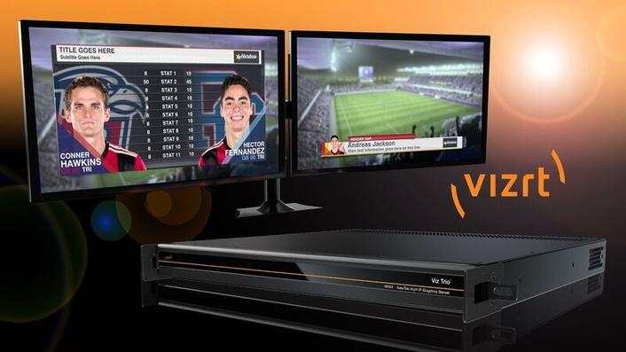 NewTek-Vizrt IP Graphics Server NVG1 Now Available