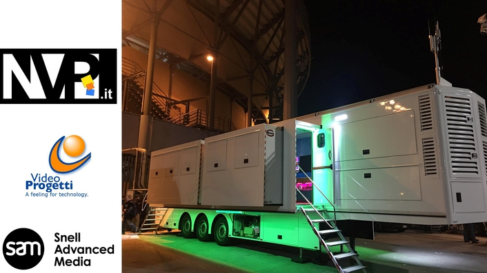 Italy's NVP builds market leading 4K OB truck with SAM