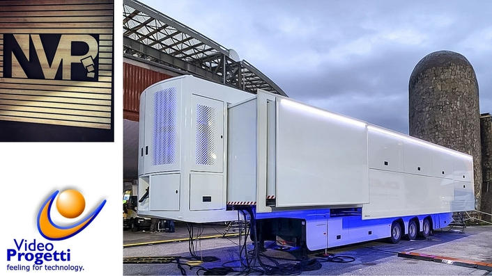 Video Progetti Help NVP to Push the Technological Bounds of OB Van Design