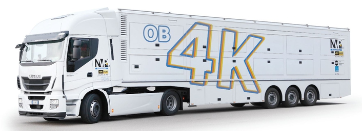 Italian broadcasting company NVP uses Lawo audio, video processing and control solutions in its new flagship 4K OB Van