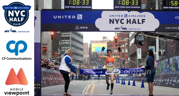 CP Communications provides 4k coverage for the NYC Half-Marathon using Mobile Viewpoint technology