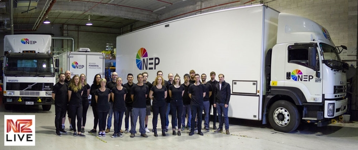 NZ Live Rebrands Local Operation as NEP New Zealand