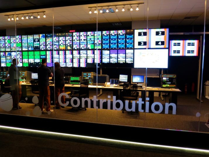 The International Broadcast Center (IBC) for the Olympics in Rio 2016