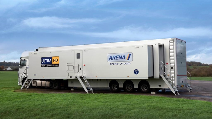 Arena TV 4K OB Van Is Live With VSM Control