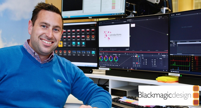 ITN Productions Moves to 12G-SDI and Uses Blackmagic Design as Part of Expansion