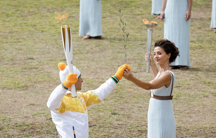 The Olympic flame was lit in Ancient Olympia on Tuesday 24 October 2017, marking the countdown to the Olympic Winter Games PyeongChang 2018.