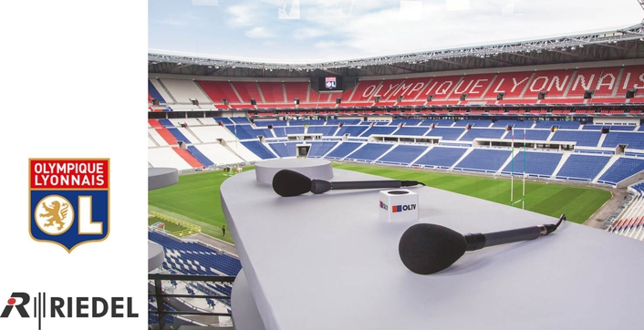 Innovative New Olympique Lyonnais Stadium Builds Signal Transport and Communications on Riedel Infrastructure
