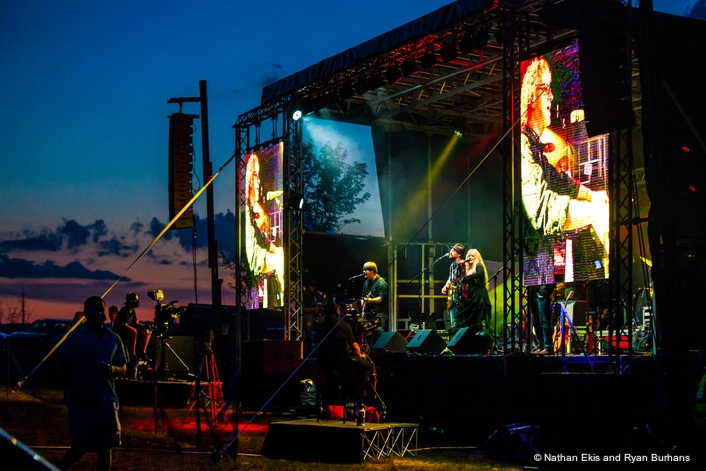 MARTIN AUDIO WPM LINE ARRAYS WOW THE CROWDS AT CHESHIRE FAIRGROUNDS