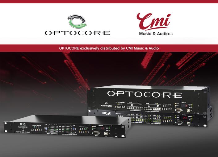 CMI Music & Audio to handle Optocore distribution in Australia
