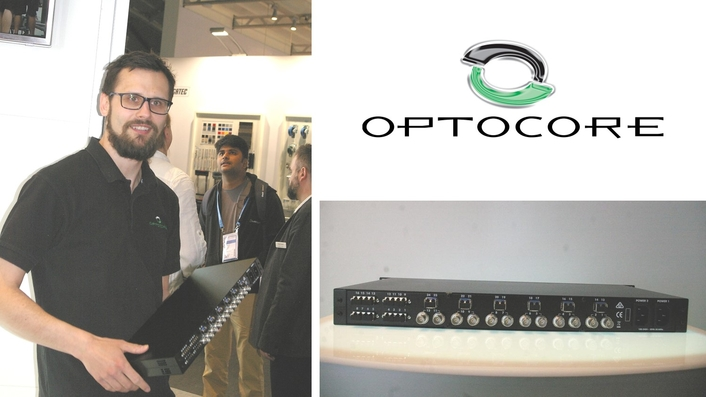 OPTOCORE FESTIVAL BOX ALLOWS ALL PROTOCOLS TO TUNNEL OVER THE SAME FIBER
