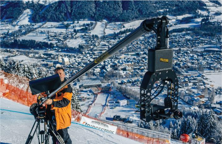 Antelope Ultra Slow Motion and Dartfish Analysis at the Kitzbuehel Alpine Skiing World Cup 2016